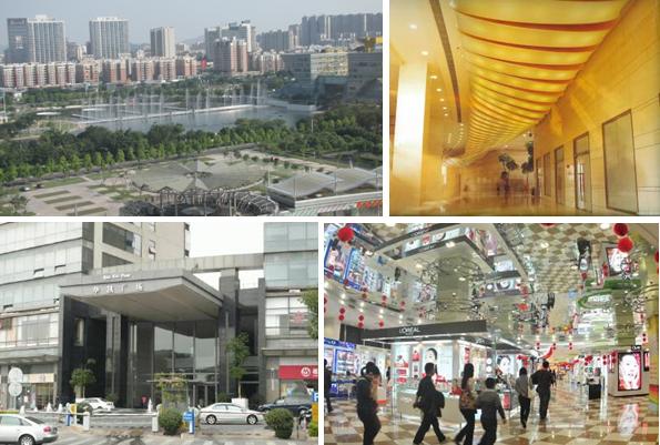 华凯广场离东莞市南城汽车客运站约5km(公车17,c3路)